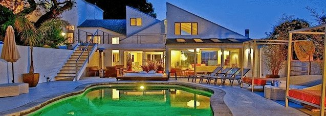 Best Los Angeles County Villas Hollywood Hills Rentals Malibu With Pictures