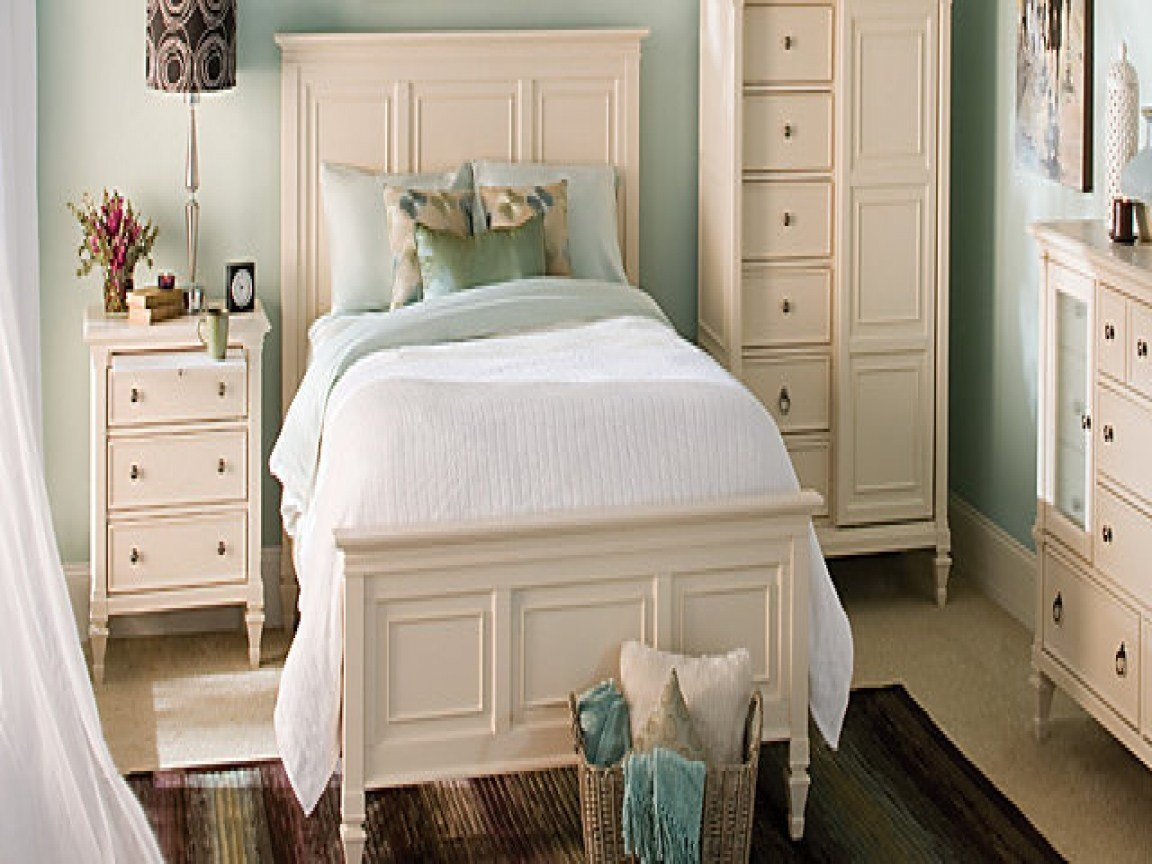 Best Bedroom Designs Baby Blue Wall White Bed Sheet Ivory Color With Pictures