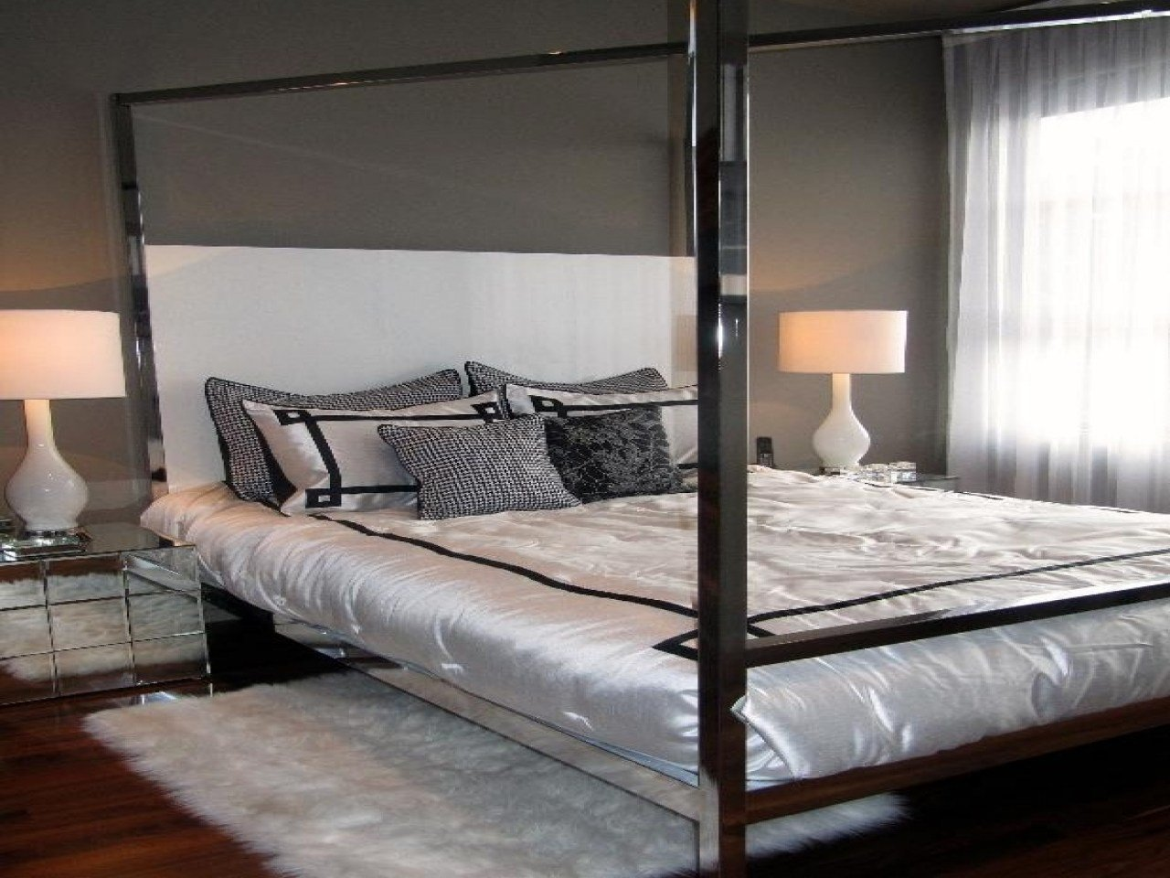 Best Bedroom Chrome Canopy Bed Pictures Decorations Inspiration And Models With Pictures