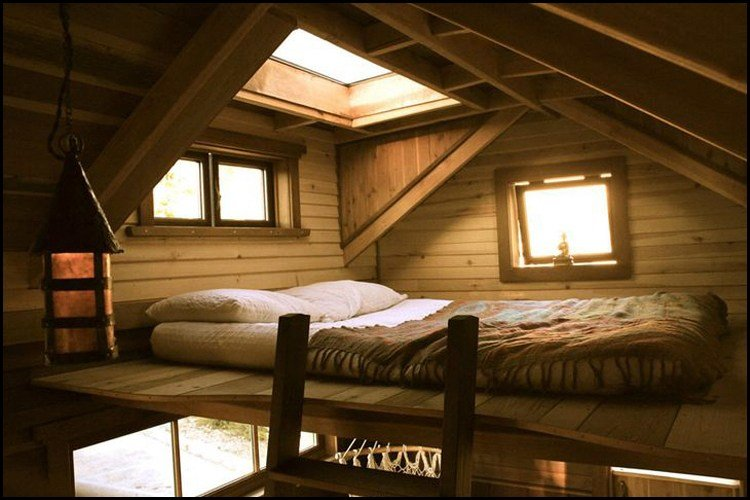 Best 12 Beautiful Creative Tiny House Lofts Living Big In A With Pictures
