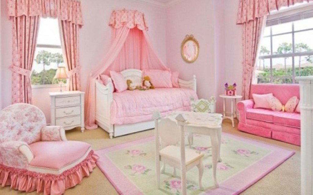 Best Simple Pink Girl Bedroom 2 On Lovekidszone Lovekidszone With Pictures