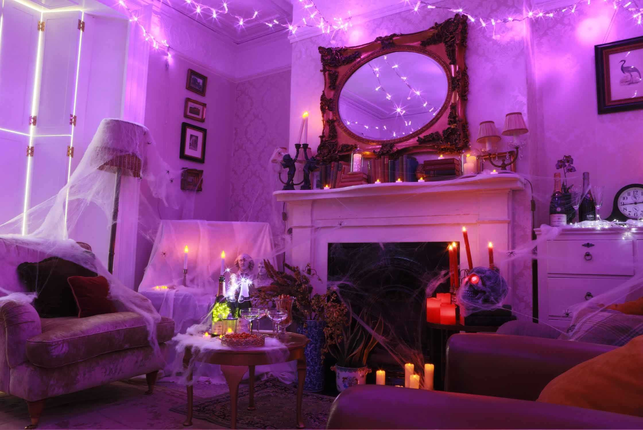 Best Purple Fairy Lights For Trends With Enchanting Bedroom With Pictures