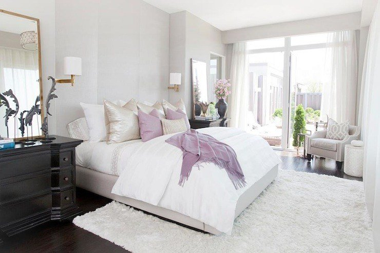 Best Suzie Carlyle Designs Pastel Bedroom With Soft Gray With Pictures
