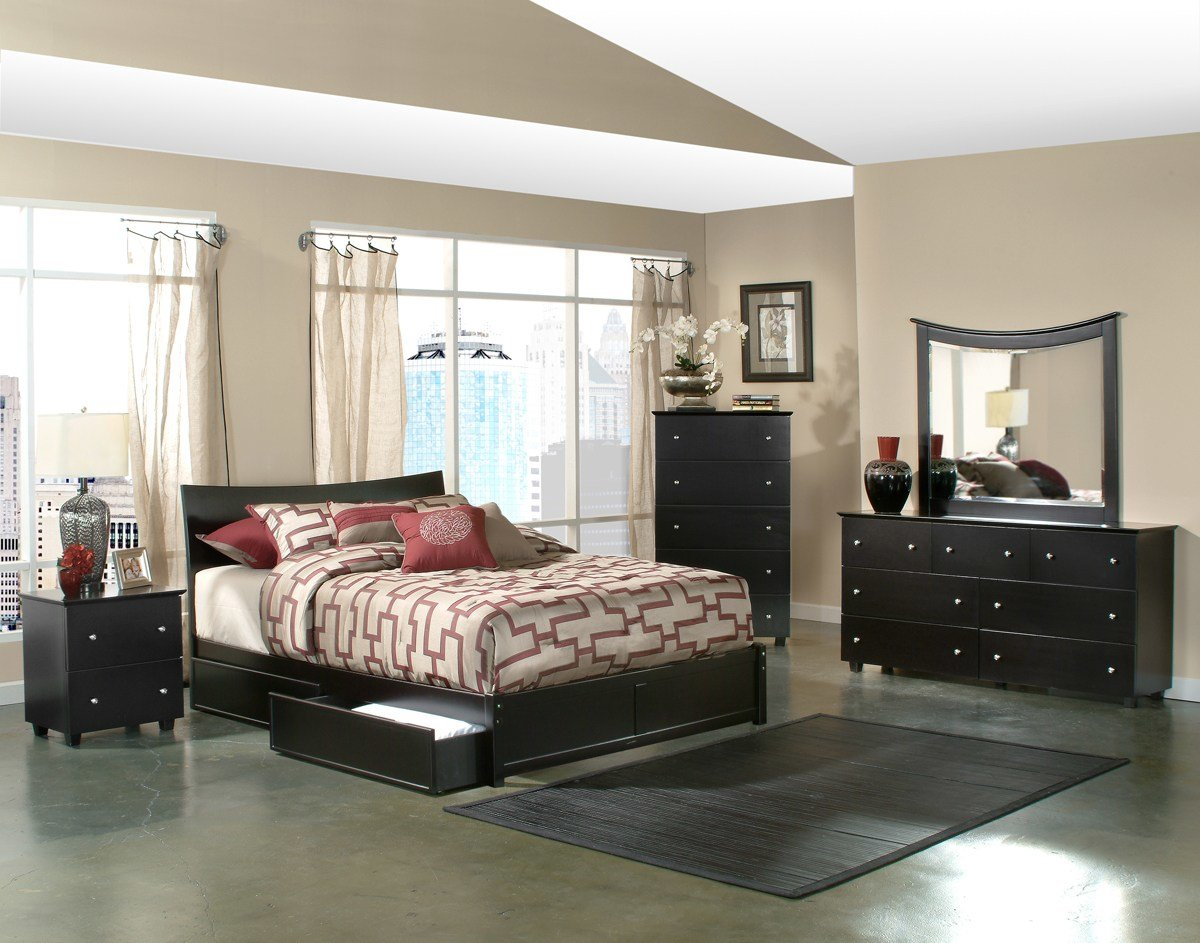 Best Knightley Bedroom Set Mattress Included With Pictures