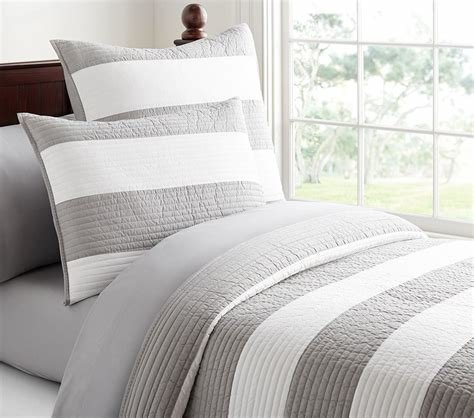Best Rugby Stripe Comforter Pottery Barn Kids Au With Pictures