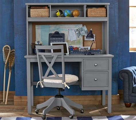 Best Elliott Desk Hutch Simply White Pottery Barn Kids Au With Pictures