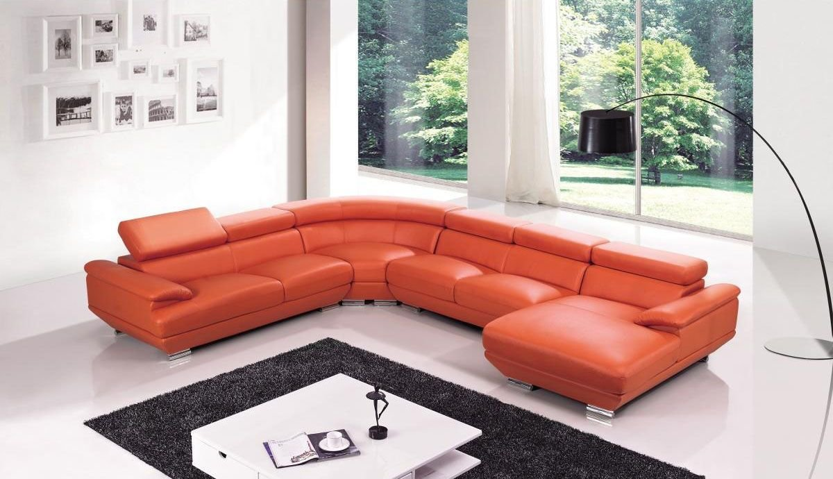 Best Exclusive Tufted Curved Sectional Sofa In Leather With Pictures