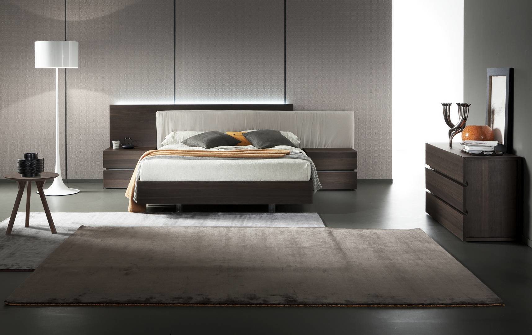 Best Made In Italy Wood Modern Contemporary Bedroom Sets San Diego California Rossetto Edge Oak With Pictures