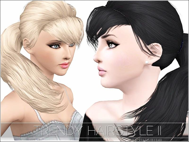 Free Tsr Archive S Trendy Hairstyle Ii Ambitions Ep Needed Wallpaper