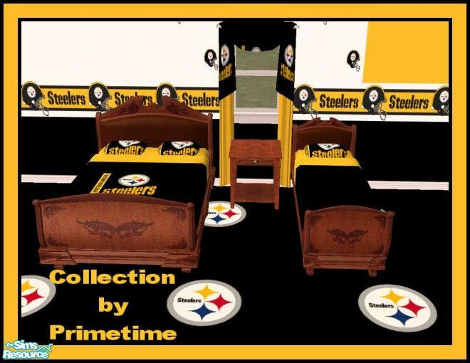 Best Primetime024 S Pt Nfl Pittsburgh Steelers Bedroom With Pictures