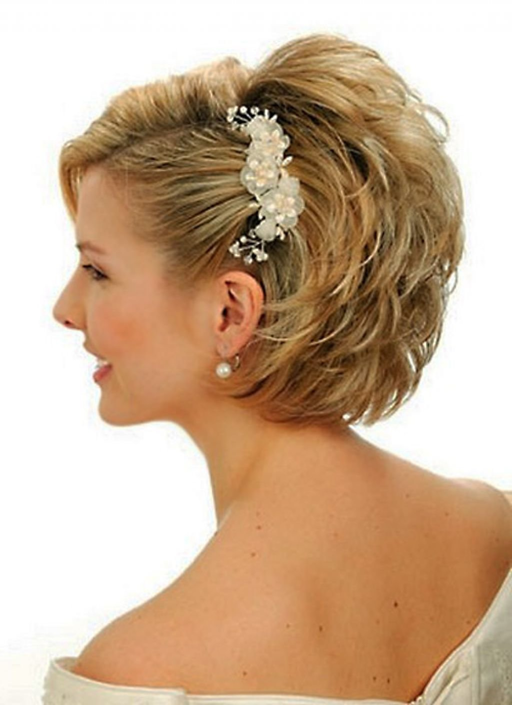 Free 25 Most Favorite Wedding Hairstyles For Short Hair The Wallpaper