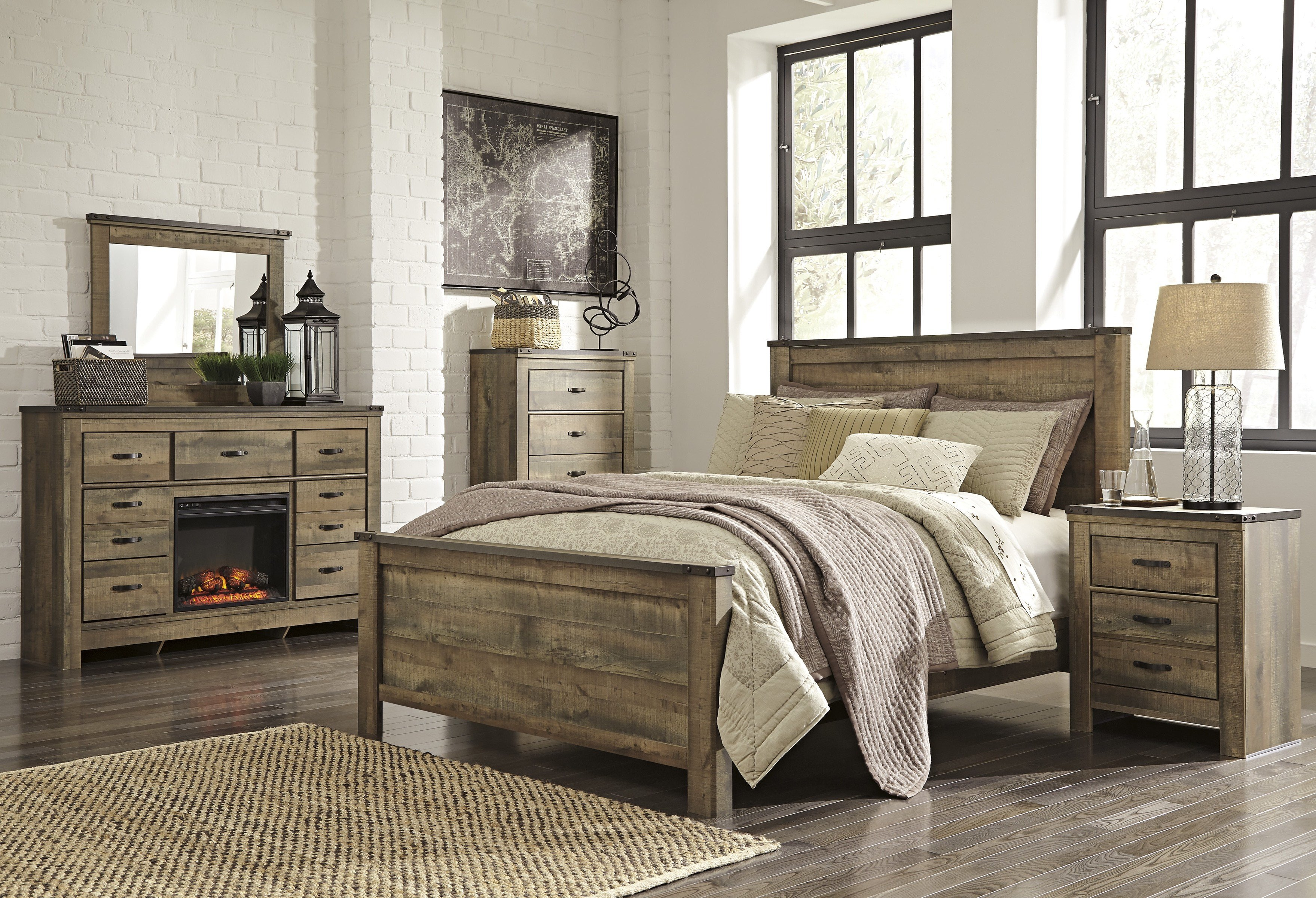 Best Reclaimed Wood Bed Set Zorginnovisie With Pictures