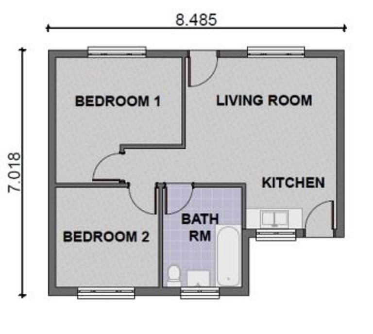 Best Luxury 2 Bedroom Contemporary House Plans New Home Plans With Pictures