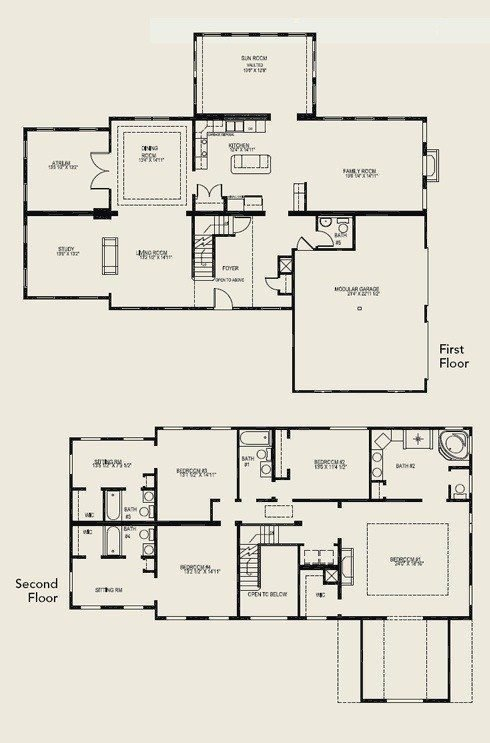 Best Beautiful 4 Bedroom 2 Storey House Plans New Home Plans With Pictures
