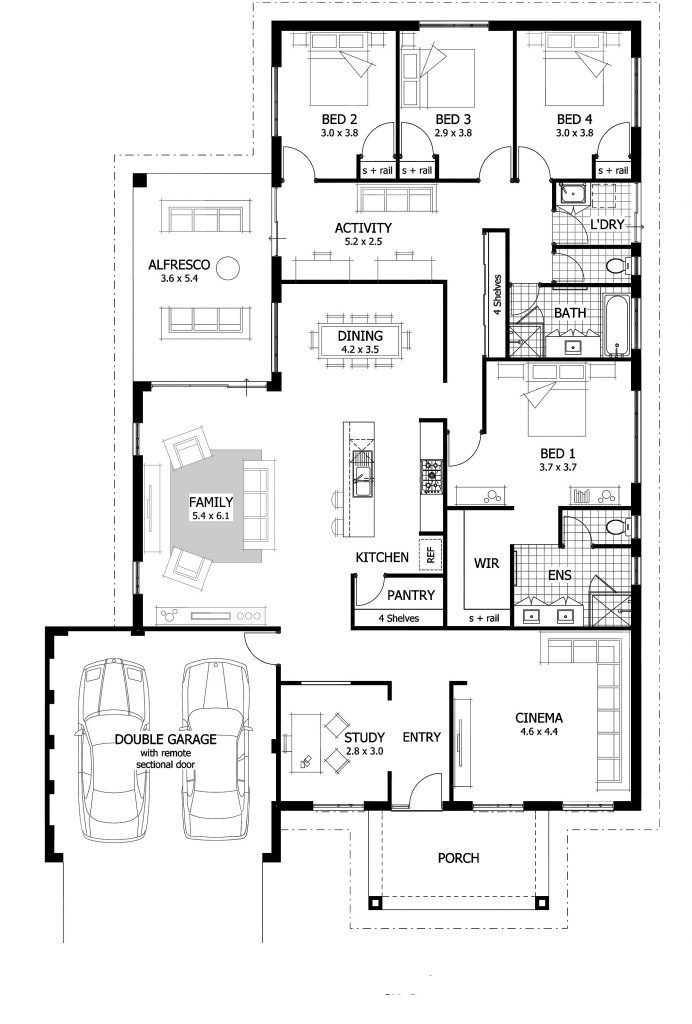Best Cool 5 Bedroom House Plans Perth New Home Plans Design With Pictures