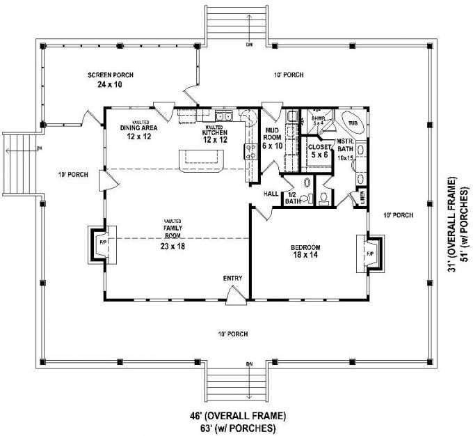 Best Elegant 5 Bedroom House Plans With Wrap Around Porch New With Pictures