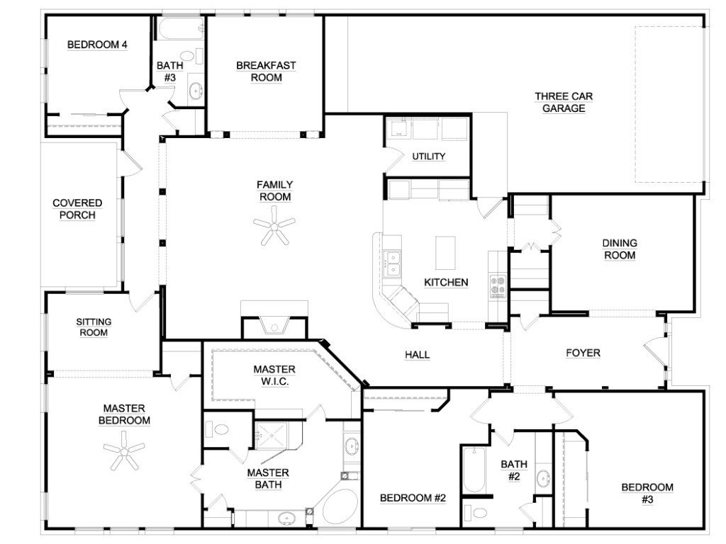 Best Awesome 6 Bedroom Ranch House Plans New Home Plans Design With Pictures