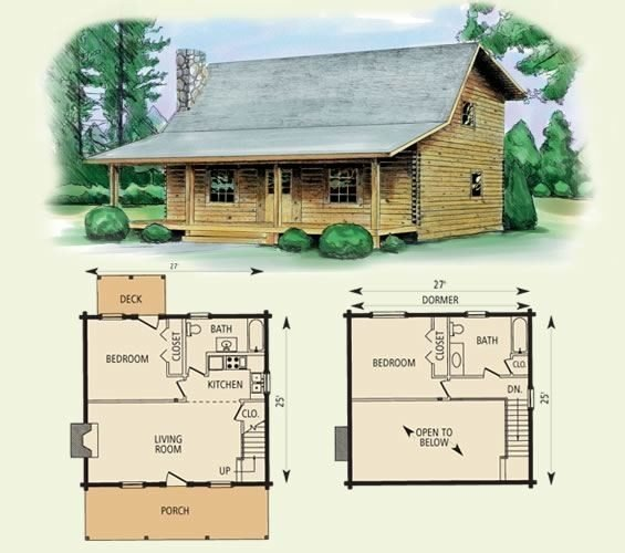 Best Amazing Log Cabin Floor Plans With 2 Bedrooms And Loft With Pictures