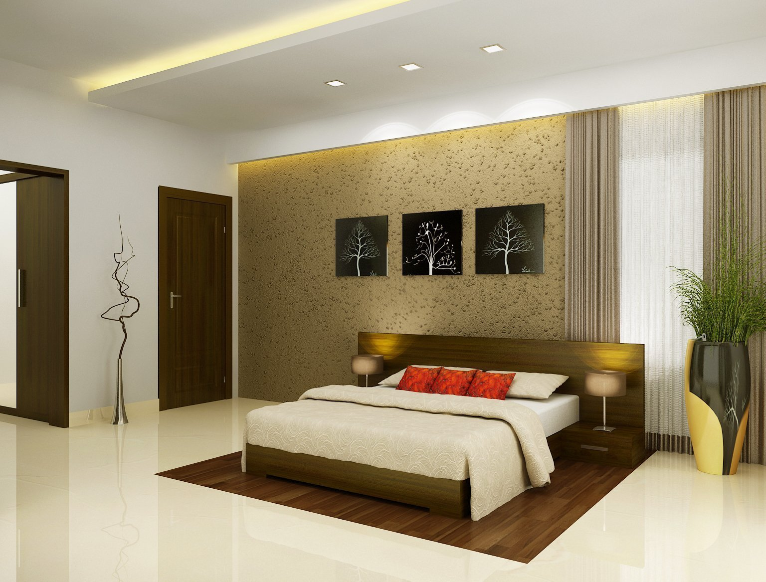 Best Comfortable Bedroom Design Kerala Style Nicheone With Pictures
