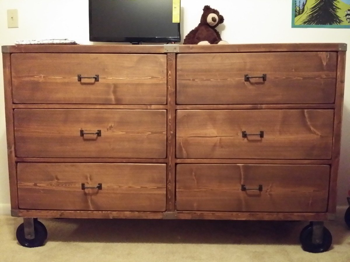 Best Ana White Rustic Dresser And Bedroom Set Diy Projects With Pictures