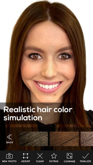 Free Hair Color App Review Apppicker Wallpaper