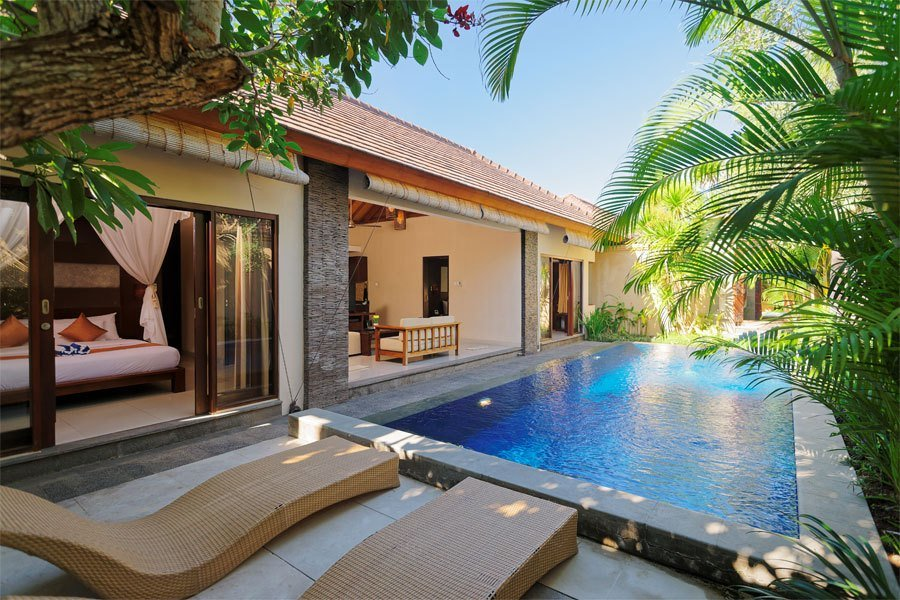 Best Two Bedrooms Pool Villa Arman Villas And Spa Seminyak Bali With Pictures
