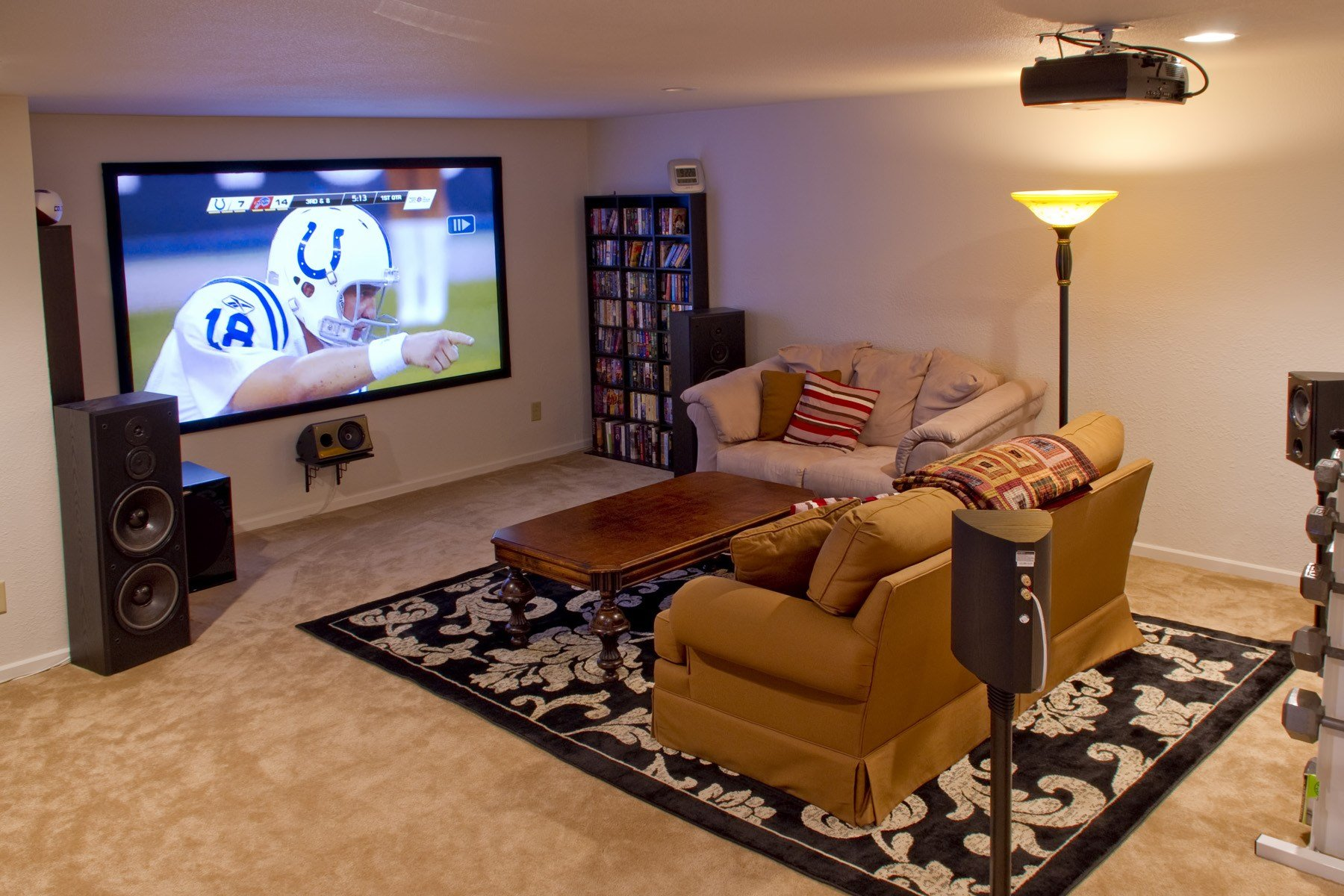 Best Edgar In Indy S Home Theater Evolution On A Shoestring Budget Blu Ray Forum With Pictures