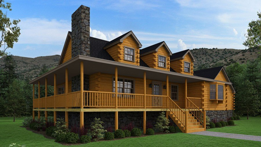 Best Log Cabins The Bear River Floor Plans With Pictures