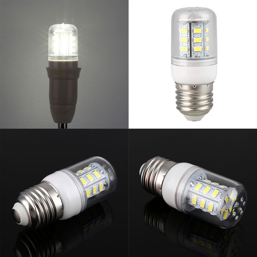 Best 220V 3W Smd 5730 Corn 24 Led Bulb Home Bedroom Lighting With Pictures