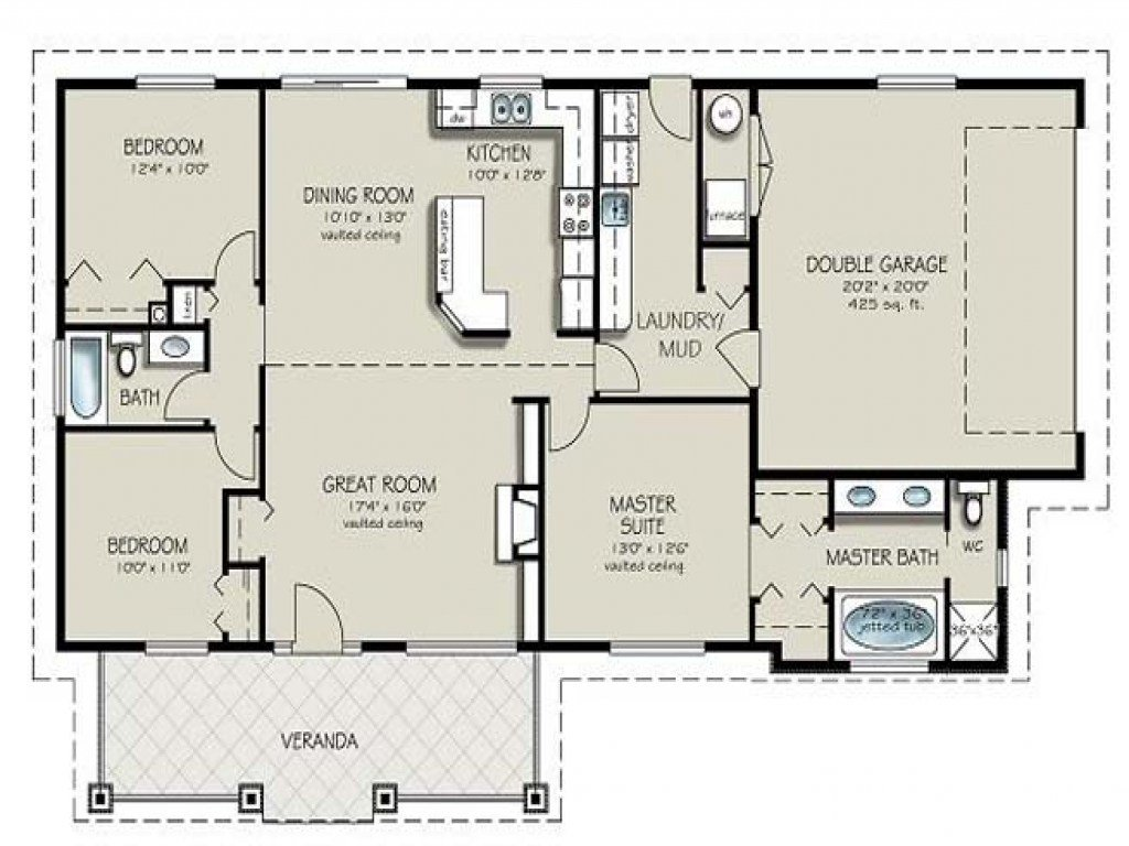 Best Two Bedroom Two Bathroom Apartment 4 Bedroom 2 Bath House With Pictures