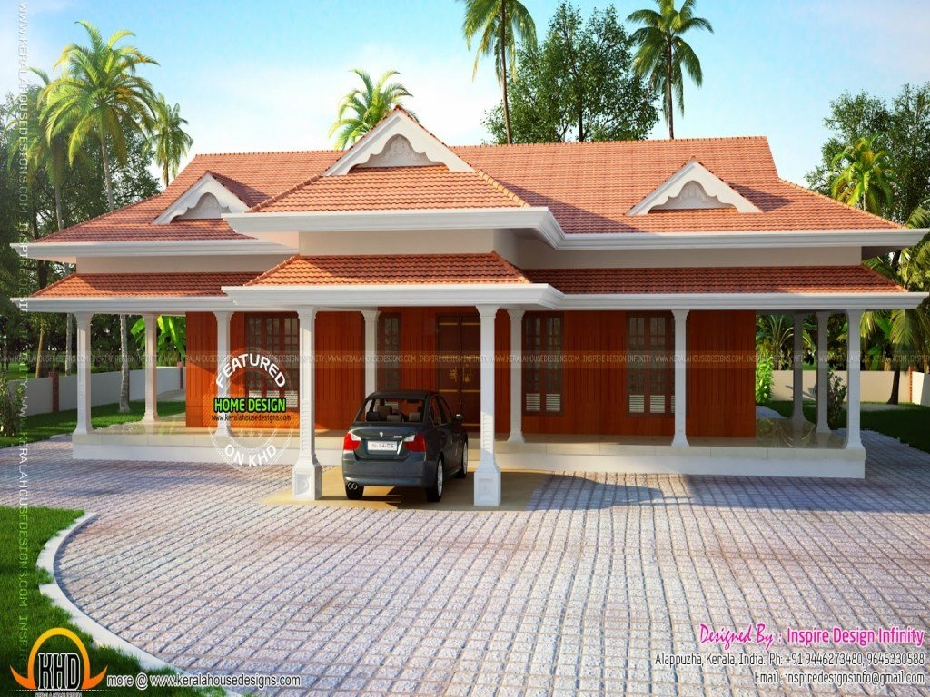 Best Kerala Traditional House Plans 5 Bedroom House Plans One With Pictures