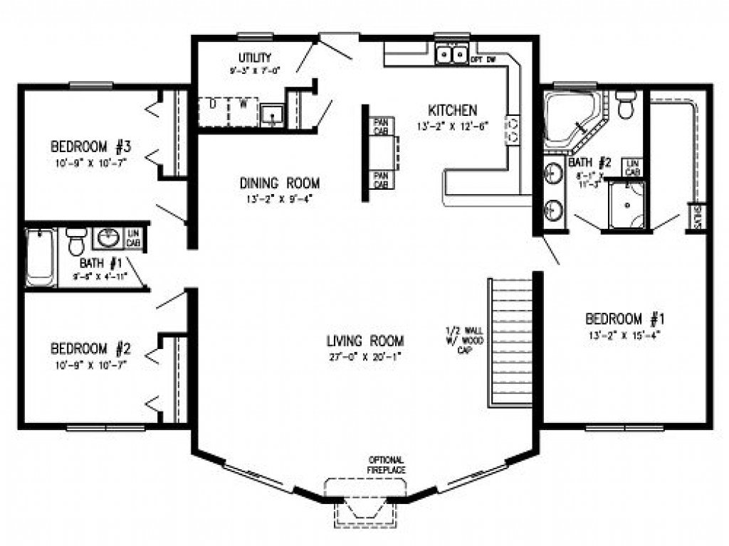 Best Modular Homes With Open Floor Plans Log Cabin Modular With Pictures
