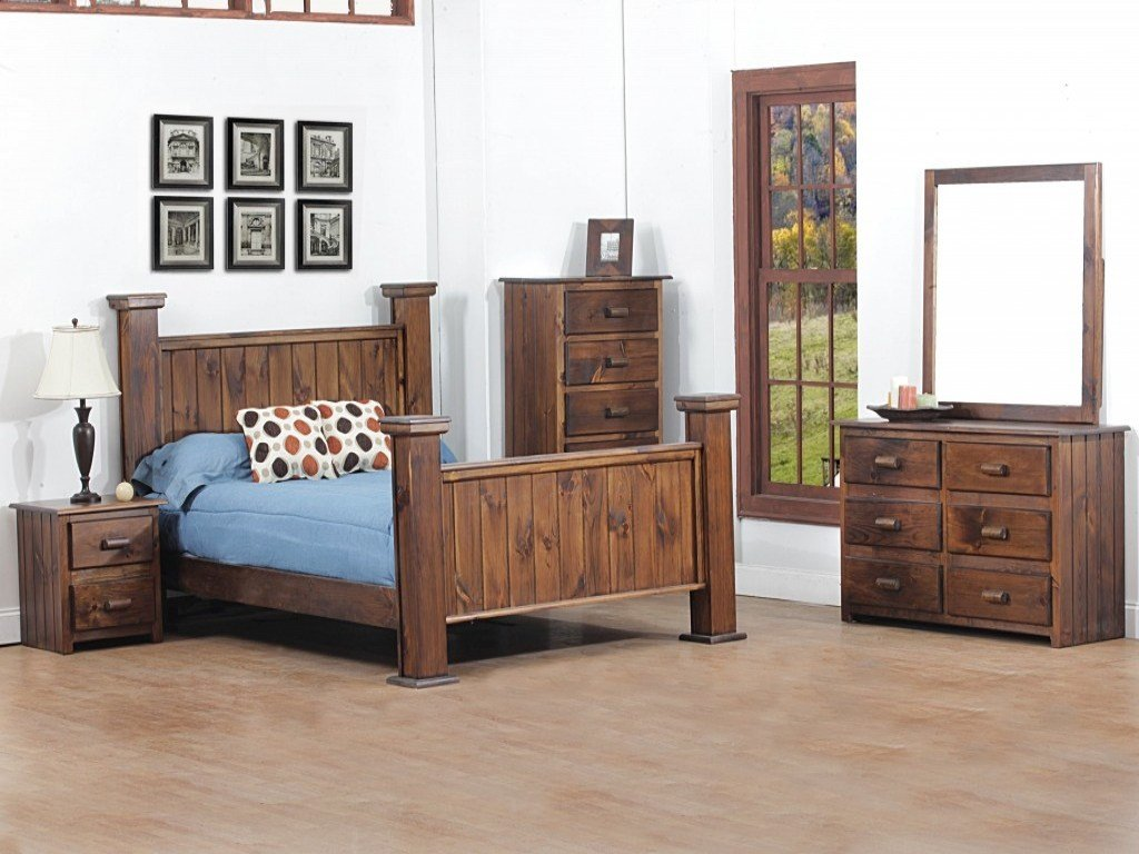 Best Cottage Style Bedroom Furniture Sets Cabin Style Bedroom With Pictures