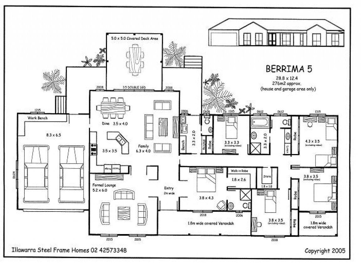 Best Simple 5 Bedroom House Plans 5 Bedroom House Plans 5 With Pictures