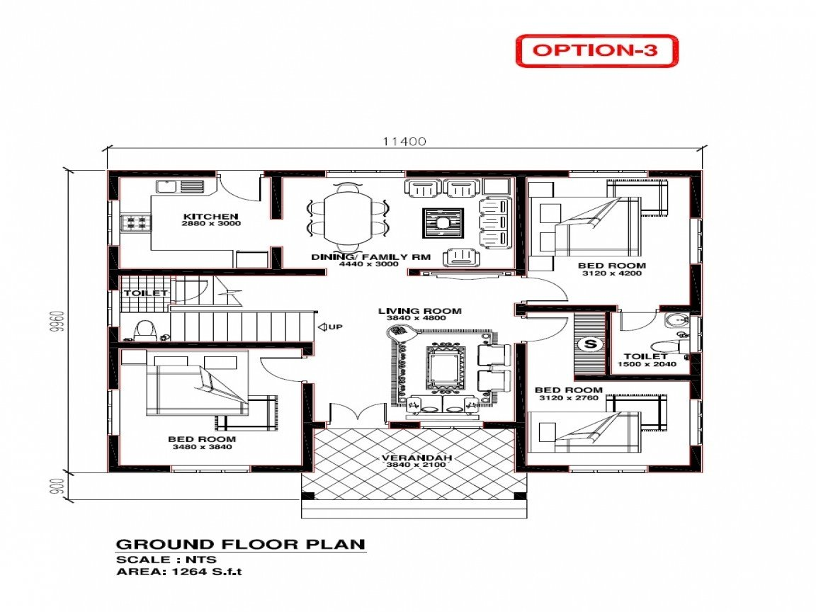 Best Kerala 3 Bedroom House Plans House Plans Kerala Model Free Construction Of House Plans With Pictures