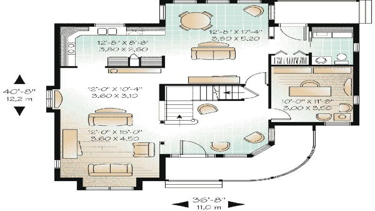 Best 3 Bedroom House Floor Plans With Garage 3 Bedroom House With Pictures