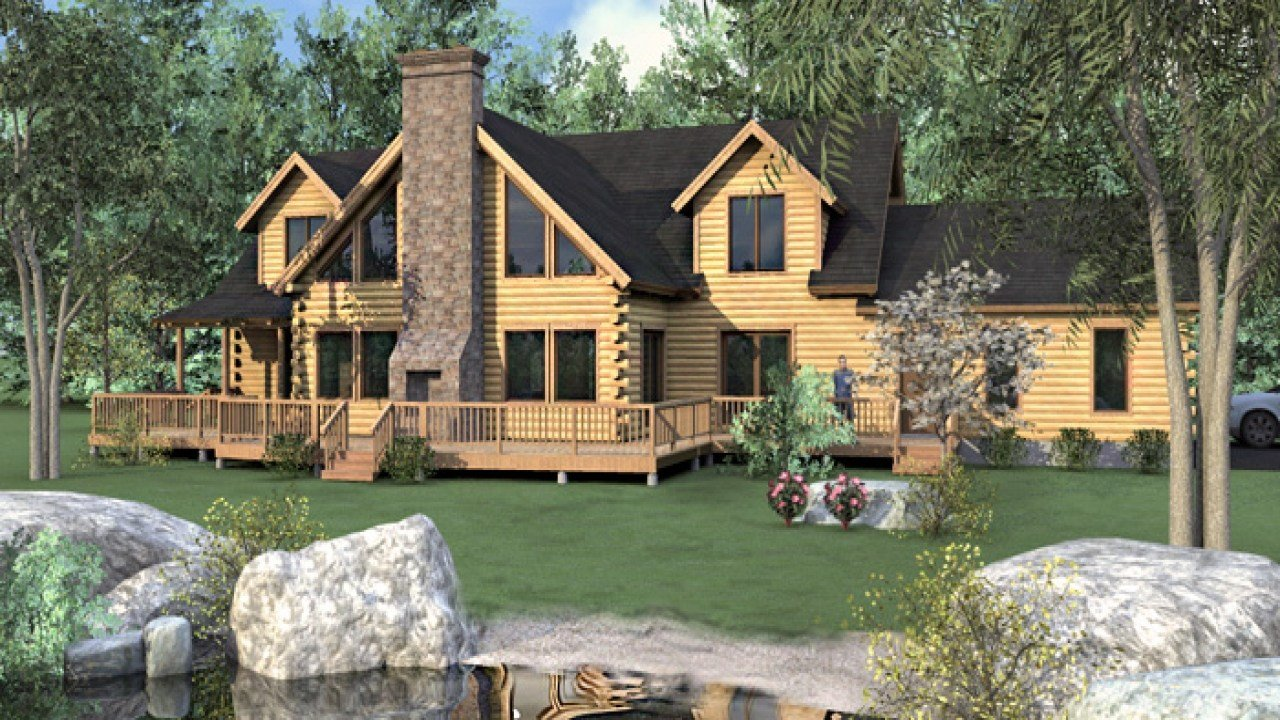 Best Luxury Log Homes Colorado 4 Bedroom Log Home Floor Plans With Pictures