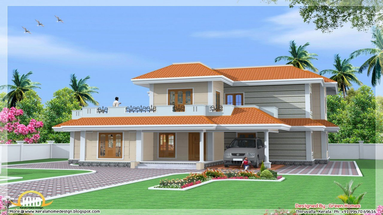 Best Kerala 3 Bedroom House Plans Kerala Model House Design With Pictures