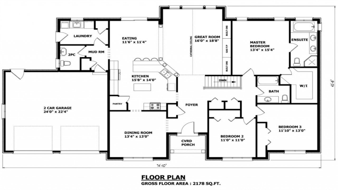 Best Custom Homes Floor Plans House Design 7 8 Bedroom Home With Pictures