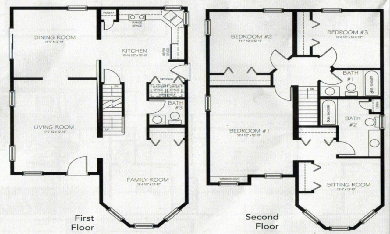 Best 4 Bedroom 2 Story House Plans 2 Story Master Bedroom Two With Pictures