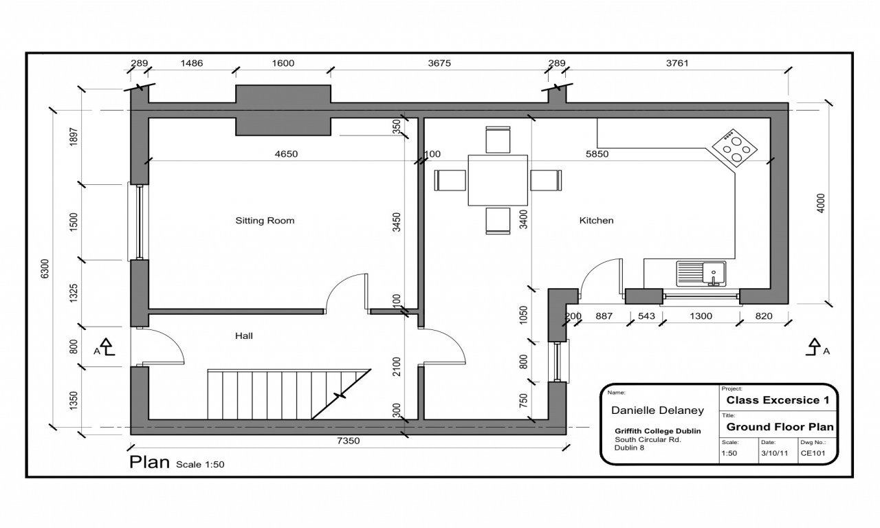 Best Simple 4 Bedroom House Plans Simple House Design Plan Layout Simple Plan Of House Mexzhouse Com With Pictures