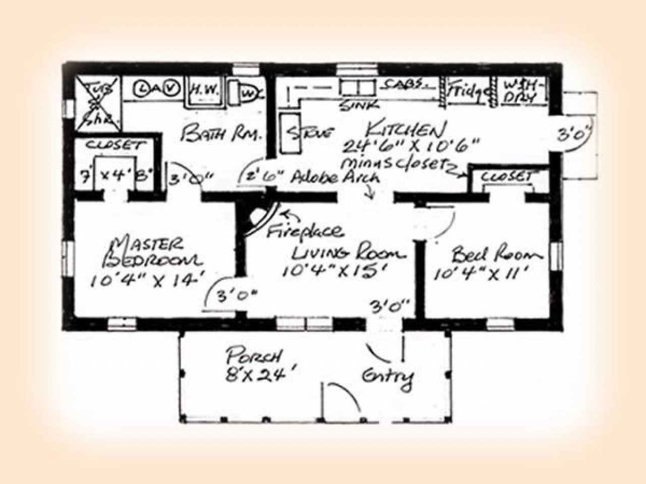Best 2 Bedroom House Simple Plan 2 Bedroom House Plans House With Pictures