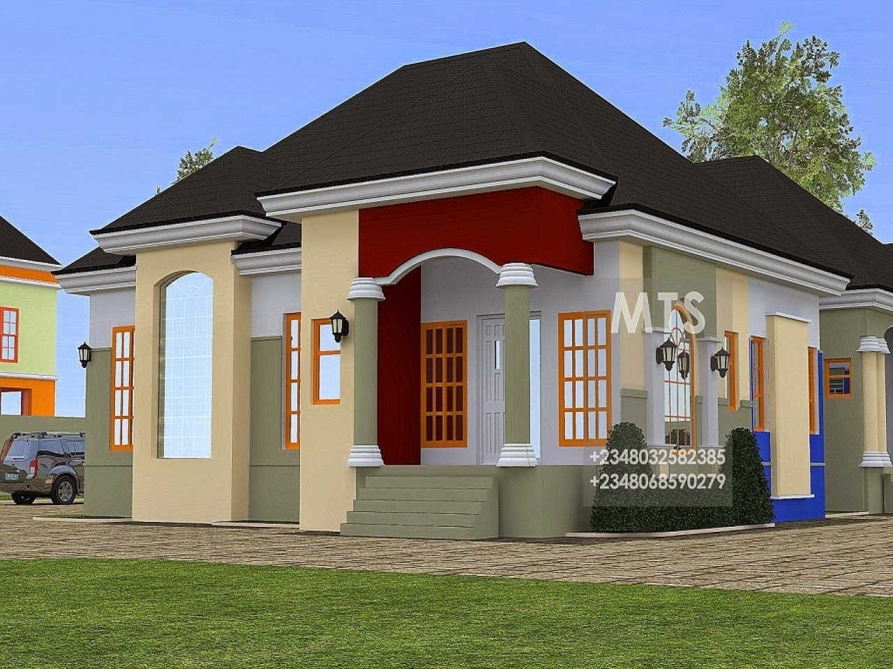 Best 2 Bedroom Bungalow Design Bungalow House Designs With Pictures