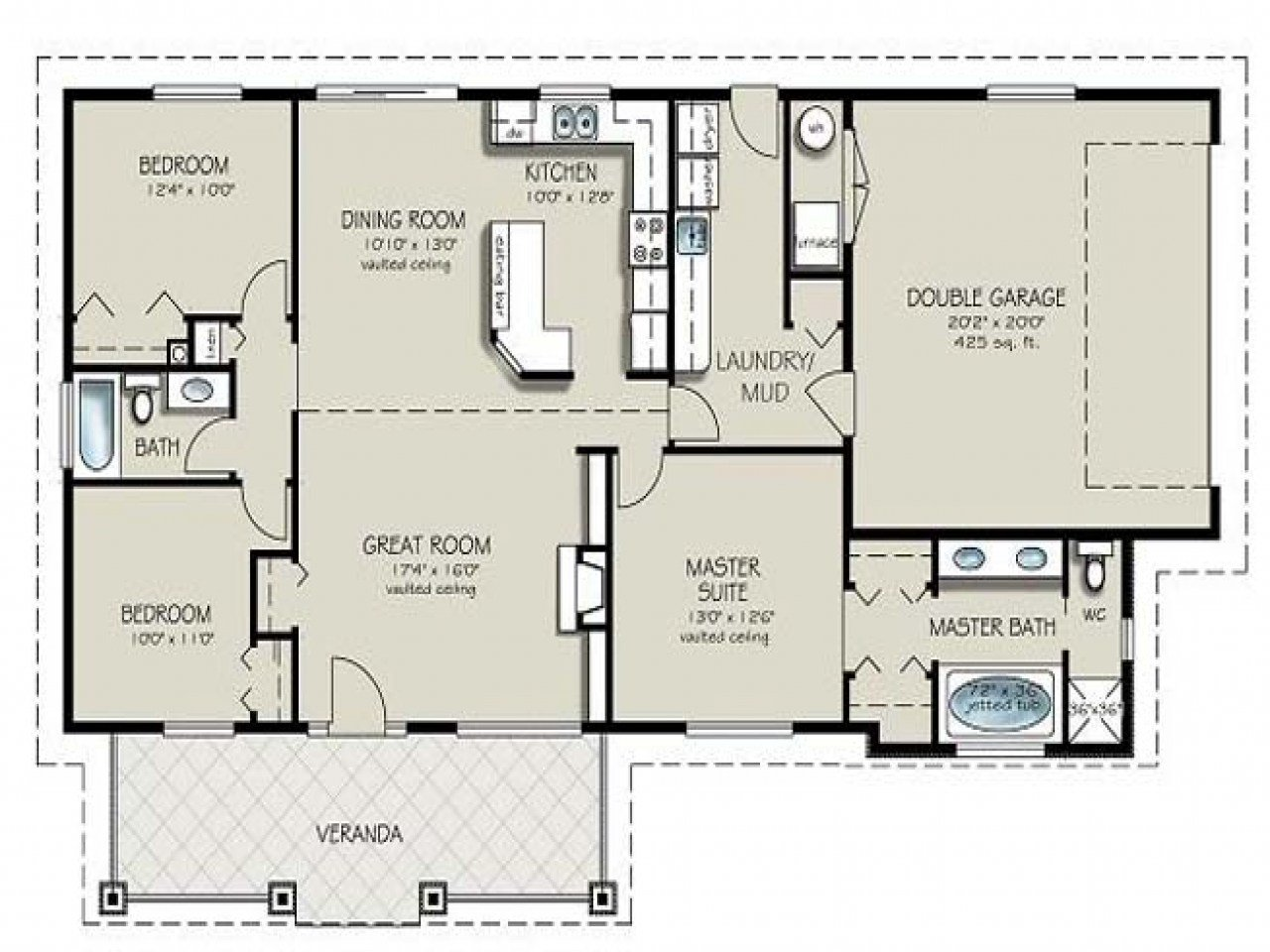 Best 4 Bedroom 2 Bath House Plans 4 Bedroom 4 Bathroom House With Pictures