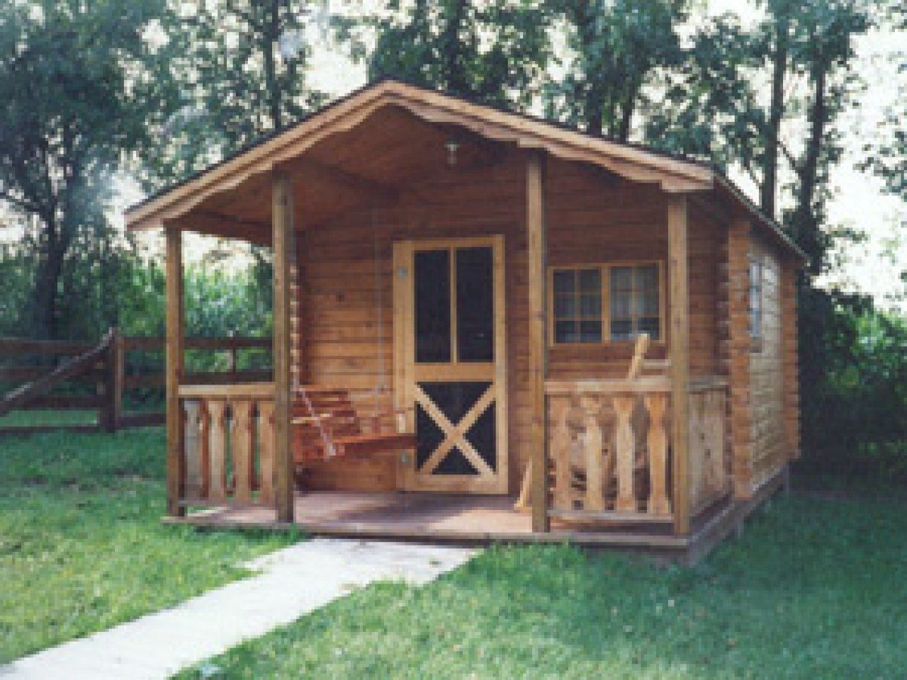 Best Small Log Bedroom Small One Room Log Cabin Kits Camper With Pictures