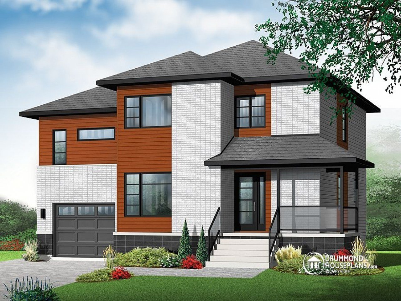 Best House Plans With Bedrooms Upstairs 2 Bedroom House Simple With Pictures