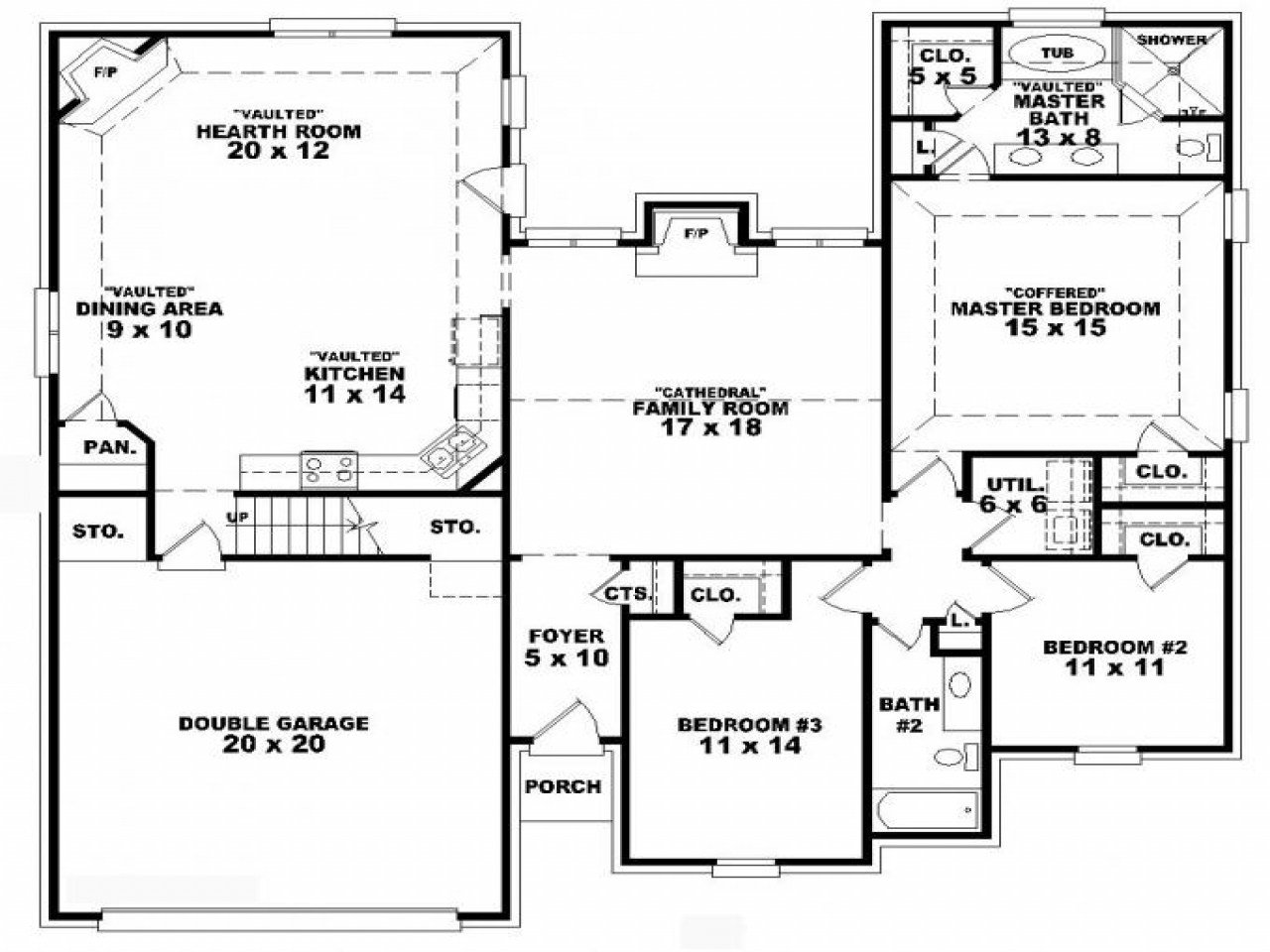 Best 3 Story Small Tower Plans House Floor Plans 3 Bedroom 2 With Pictures