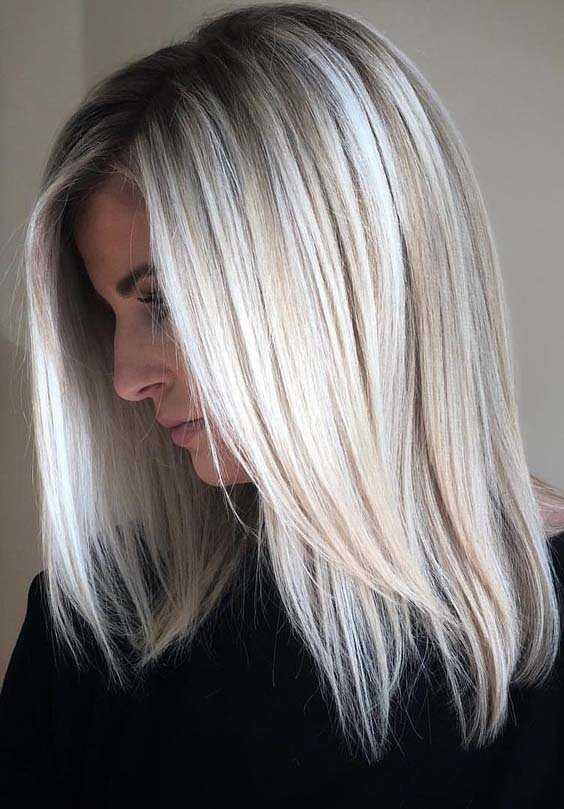 Free 28 Excellent Ice Blonde Hair Colors With Dark Roots In Wallpaper