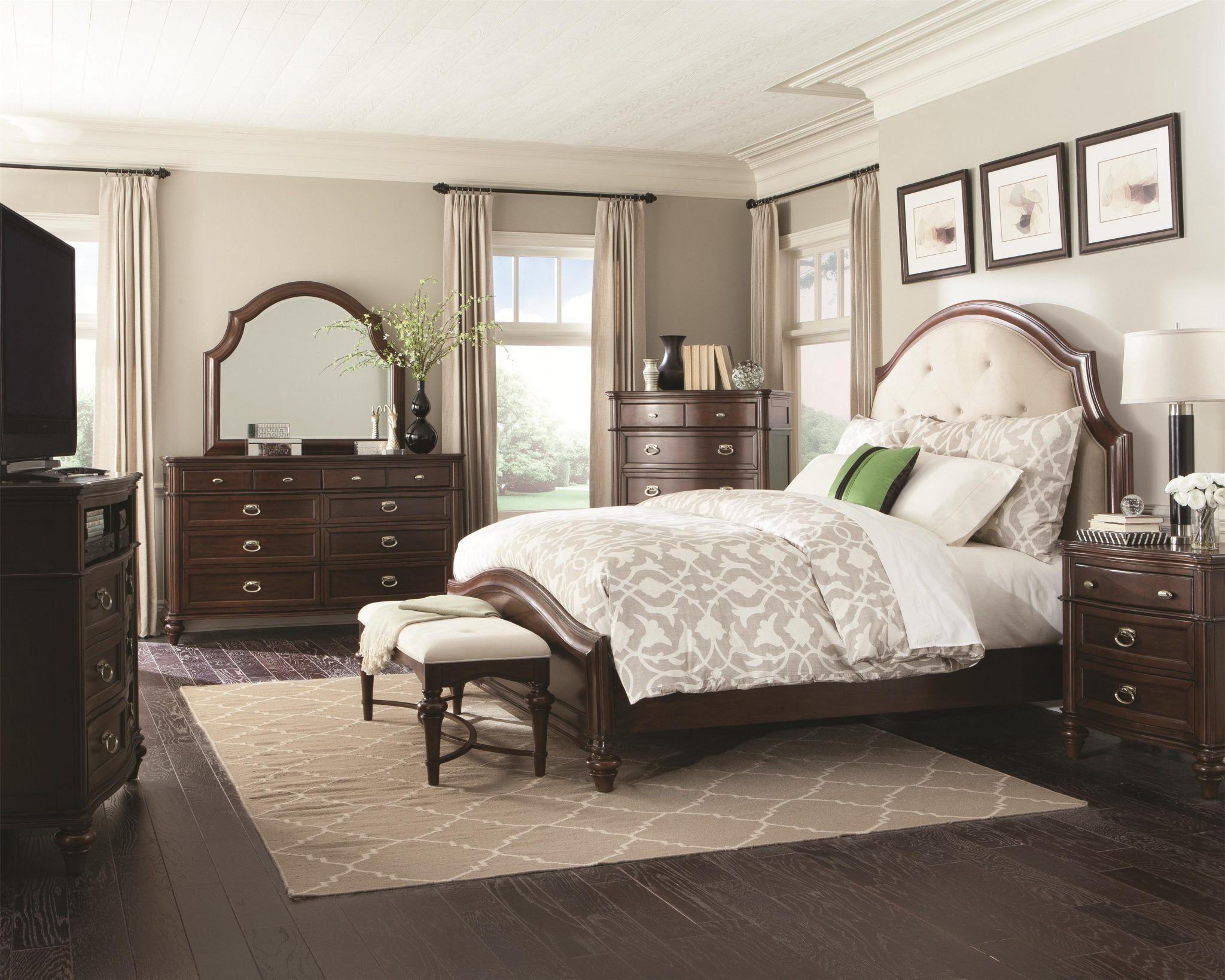 Best Coaster Furniture 4 Pc Sherwood Platform Bedroom Set With Pictures