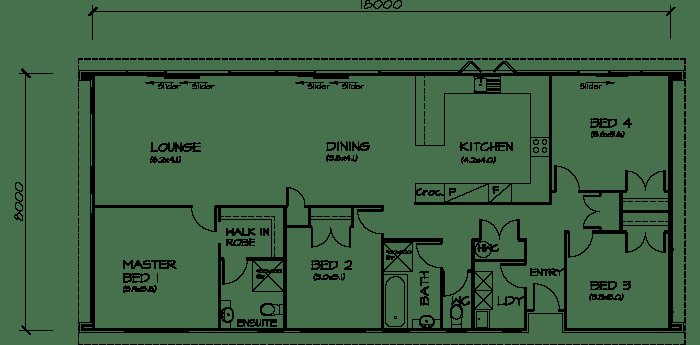 Best 4 Bedroom Transportable Homes Floor Plans With Pictures